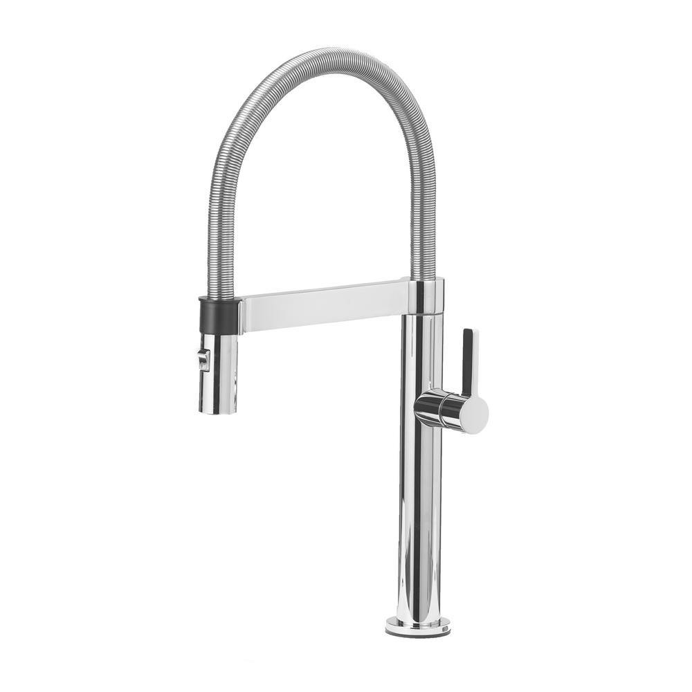 Culina Mini Single-Handle Pull-Down Sprayer Kitchen Faucet with 1.8 GPM in