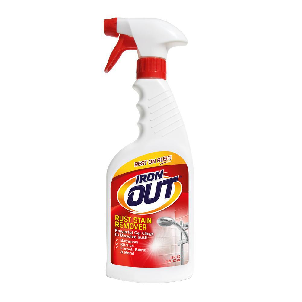 Super Iron Out Fl Oz SprayLIPN The Home Depot - Bathroom tiles stain remover