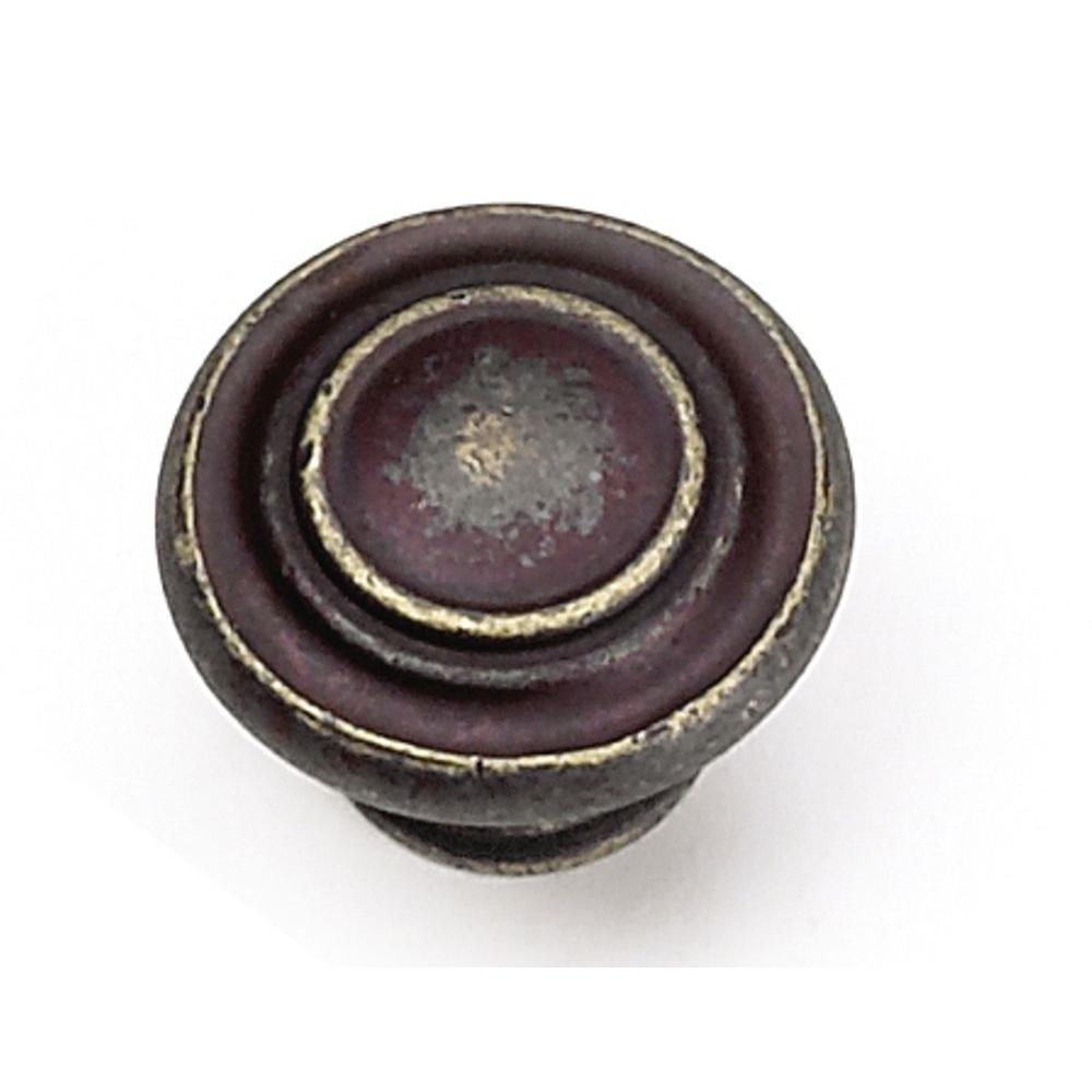 Windsor 1-3/8 in. Antique Bronze Cabinet Knob