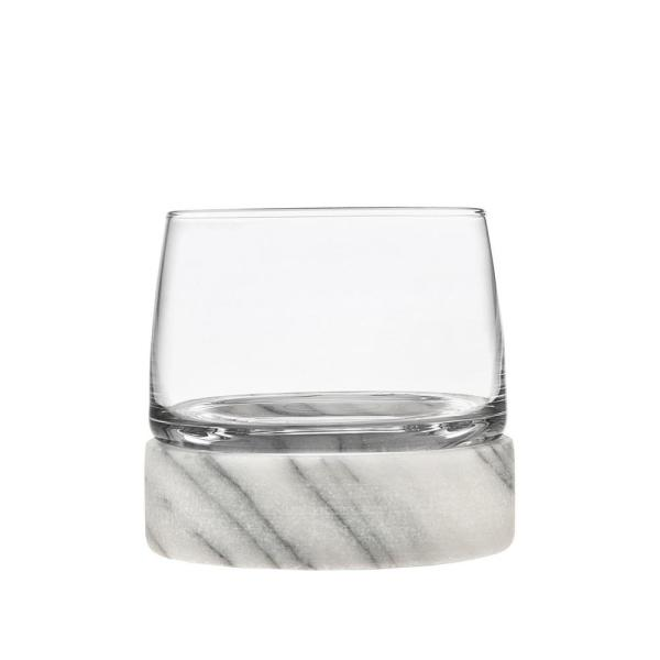 Stone Cold 12 oz. DOF Crystal Glasses (Set of 2)