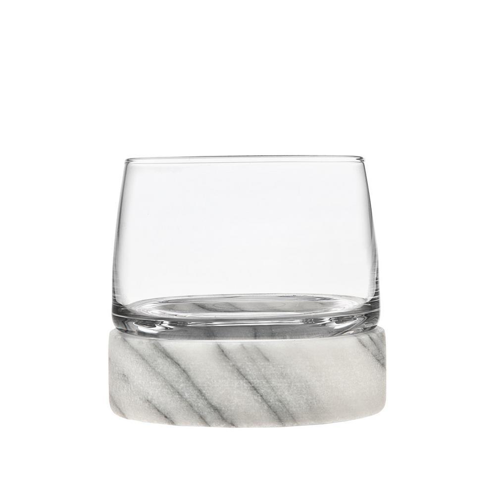 Stone Cold 12 oz. DOF Crystal Glasses (Set of 2)