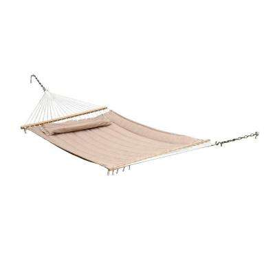 Monte Carlo 13 ft. Premium Poly Double Hammock in Taupe