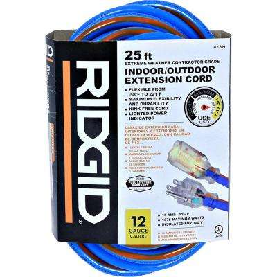 25 ft. 12/3-Gauge (-58°) Extreme Weather Extension Cord