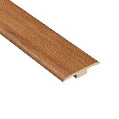 La Palma Oak 1/8 in. Thick x 1-3/8 in. Wide x 94-1/2 in. Length Vinyl T-Molding