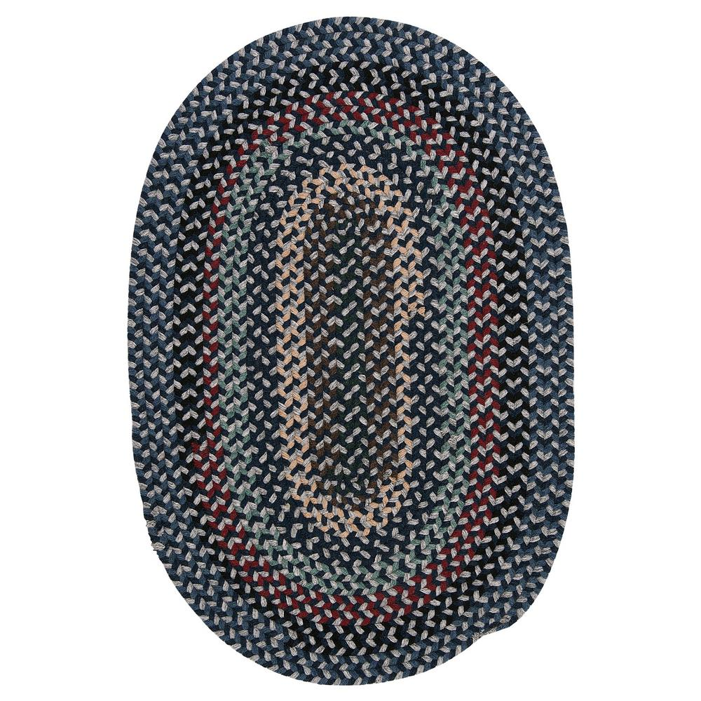 Home Decorators Collection Winthrop Winter Blues 2 Ft X 3 Ft Braided Area Rug Bc52r024x036 The Home Depot