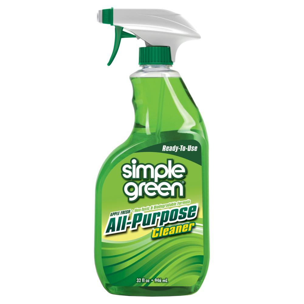 32 oz. Apple Fresh Scent Ready-To-Use All-Purpose Cleaner
