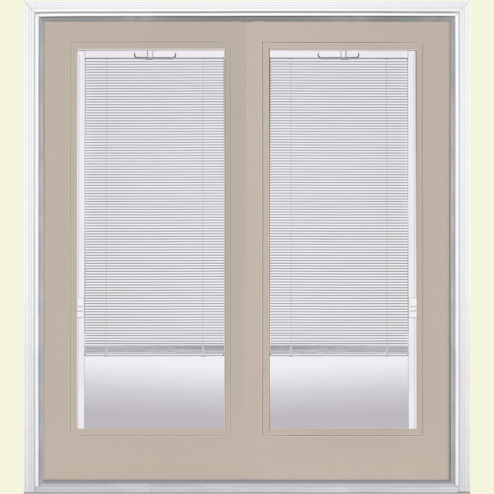 72 in. x 80 in. Canyon View Prehung Left-Hand Inswing Mini