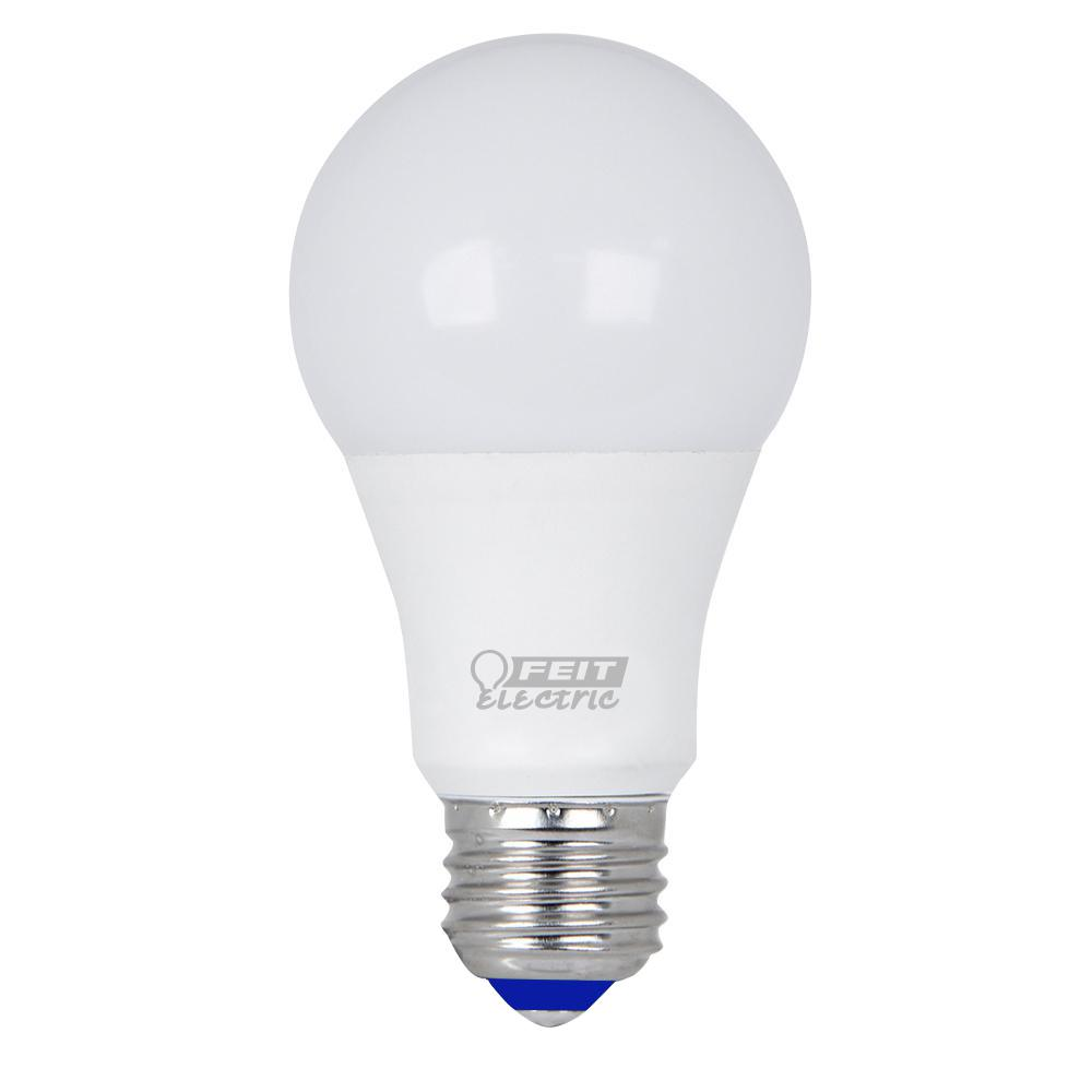 60W Equivalent Warm White A19 Cold Start LED Light Bulb