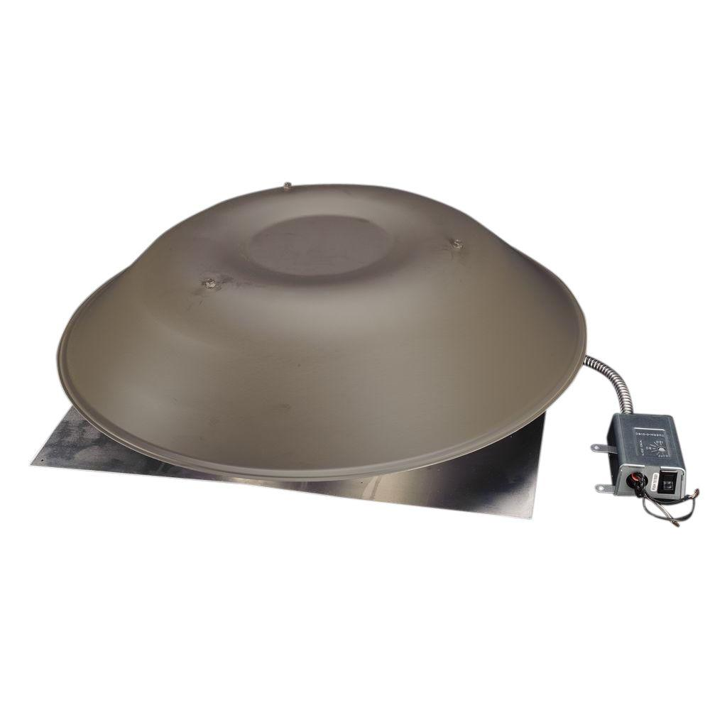 LomanCool 2000 800 CFM Weathered Bronze Power Attic Vent