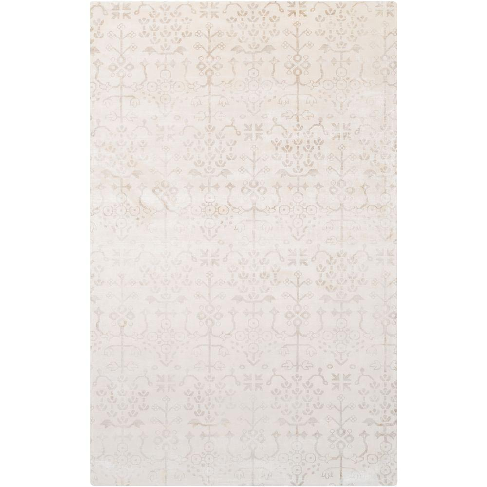 Atkinson Ivory 5 ft. x 8 ft. Indoor Area Rug