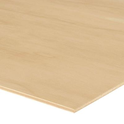 5.2mm - Sande Plywood (1/4 in. Category Common: 1/4 in. x 4 ft. x 8 ft.; Actual: 0.205 in. x 48 in. x 96 in.)