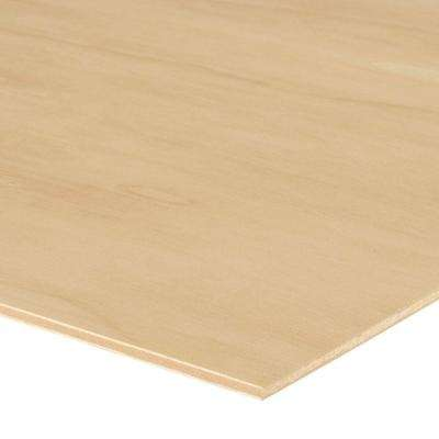 5 2mm - Sande Plywood (1/4 in  Category Common: 1/4 in  x 4 ft  x 8 ft