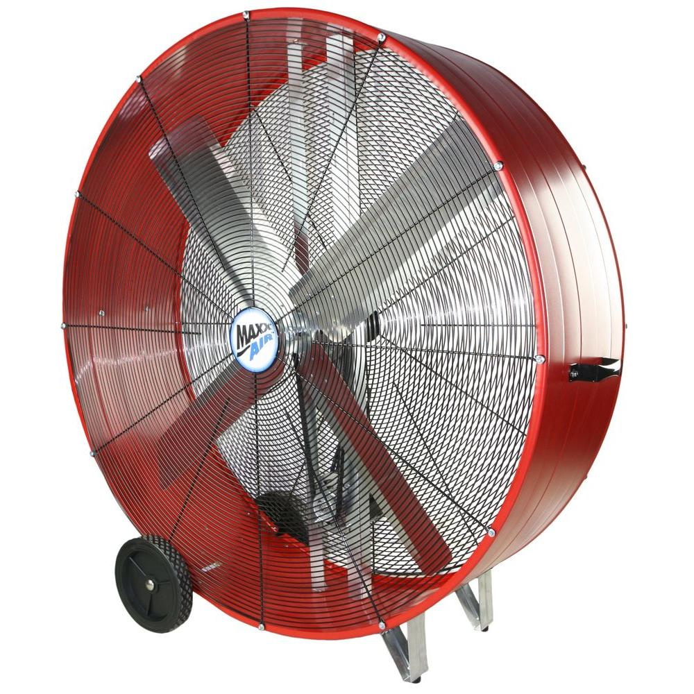 Tall Portable Fan : Maxxair pro in industrial heavy duty speed multi