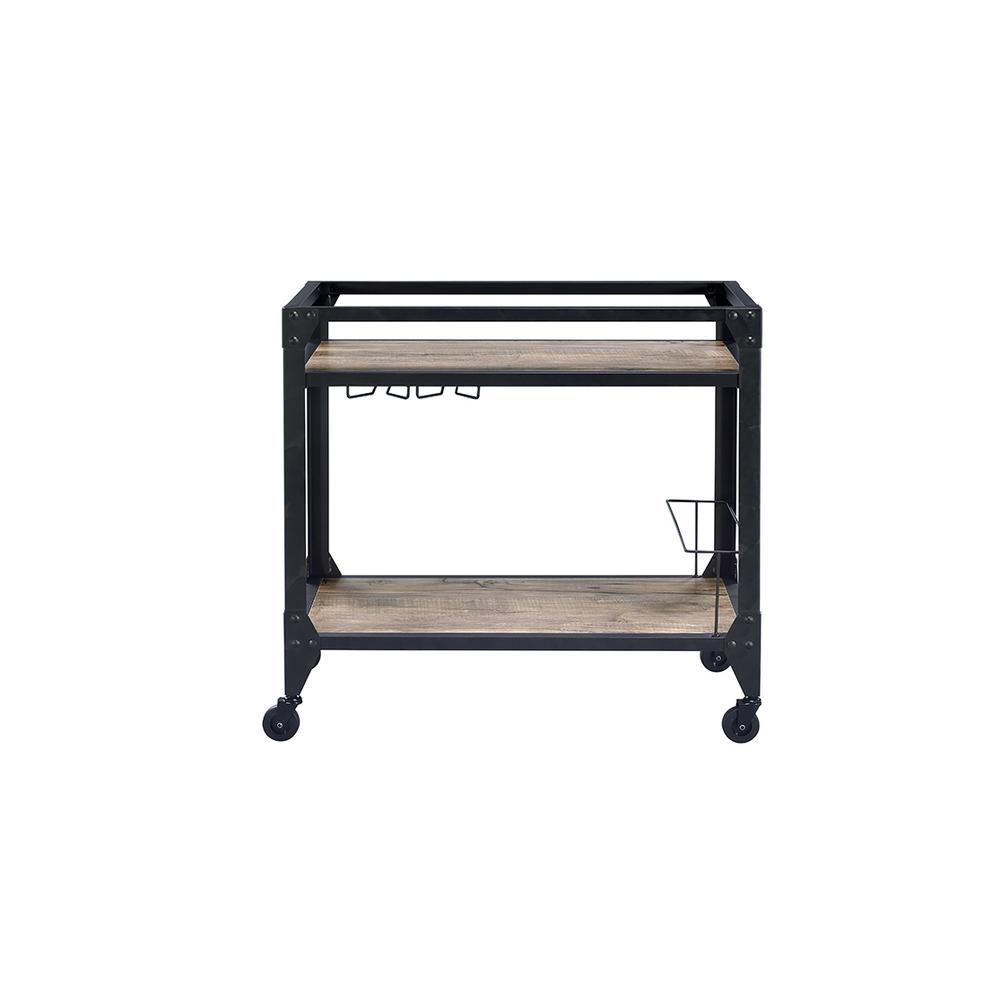 Jorgensen Black Serving Cart