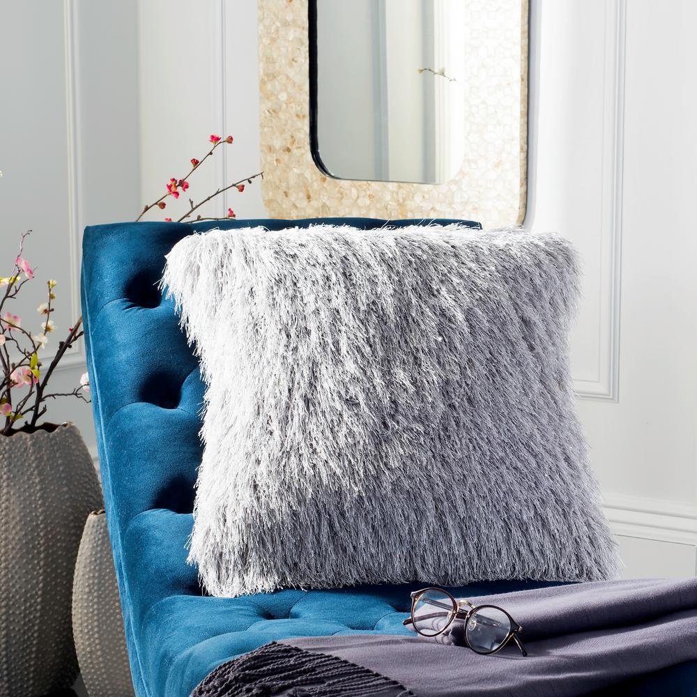 Shag Modish Metallic Standard Pillow