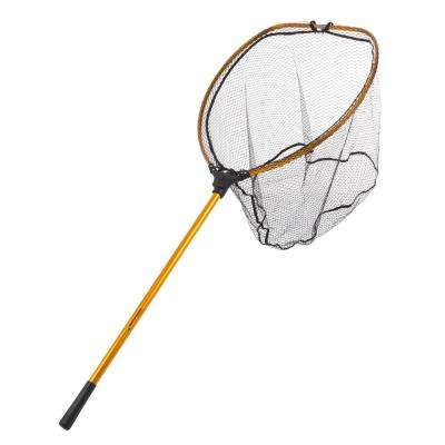 64 in. Collapsible Gold Landing Fishing Net