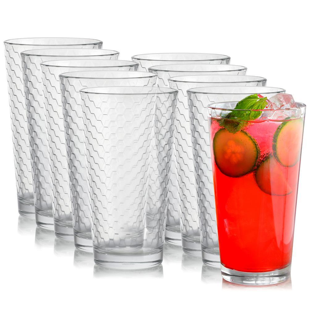 Horizon 16.75 oz. Cooler Glass (10-Pack)