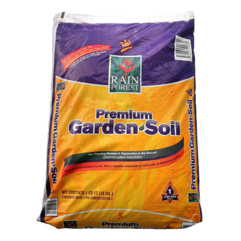 1 cu. ft. Premium Garden Soil
