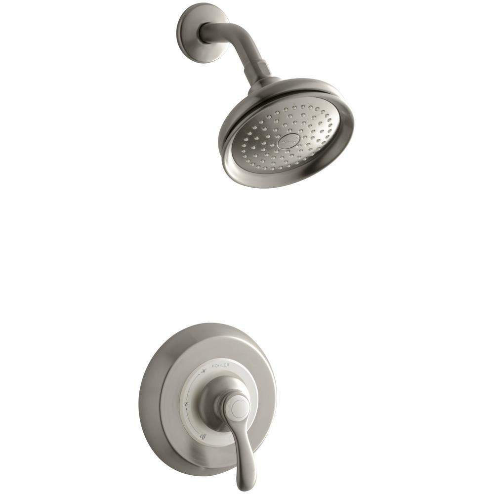 Nickel - Showerheads - Showerheads & Shower Faucets - The Home Depot