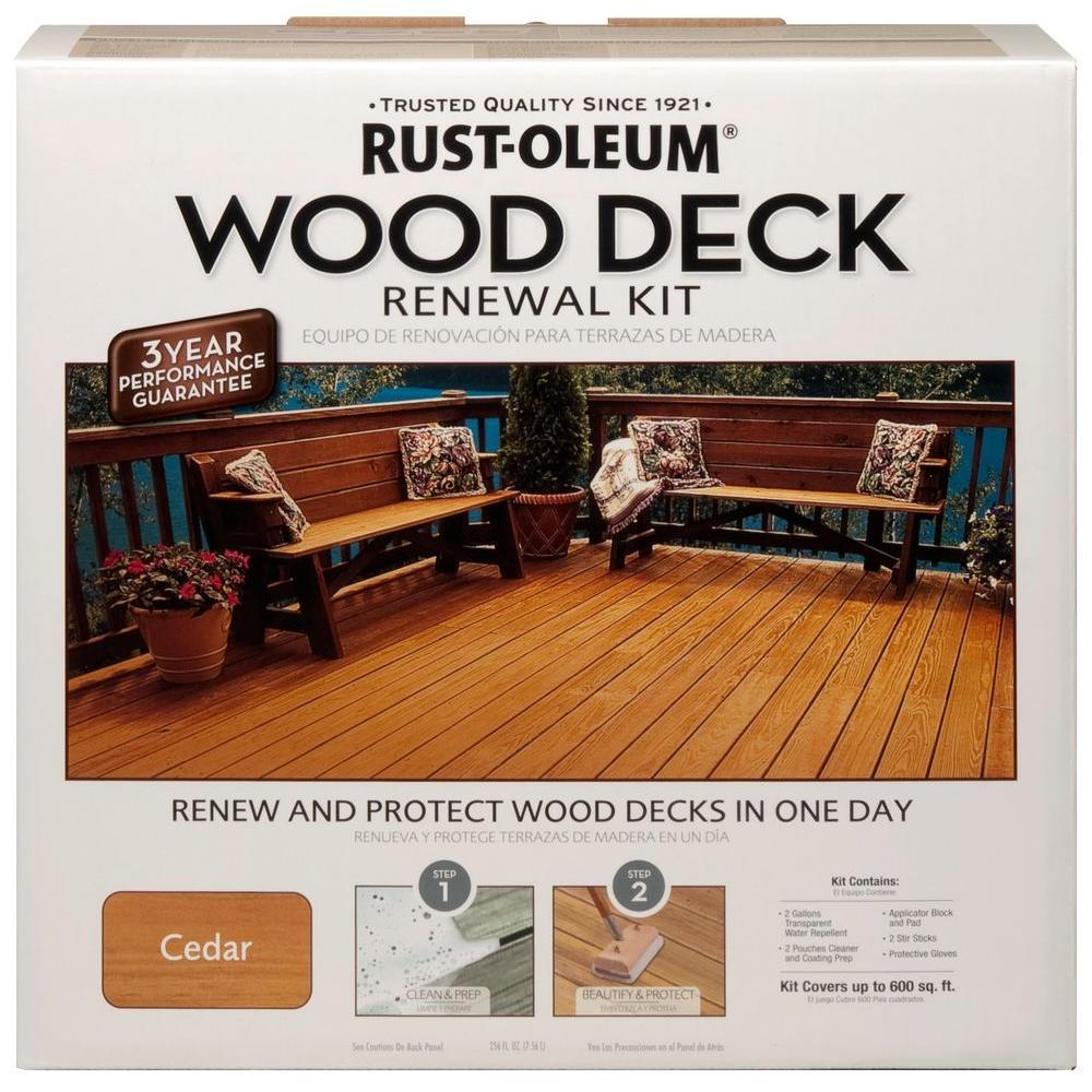 Rust-Oleum Wood Renewal Kit