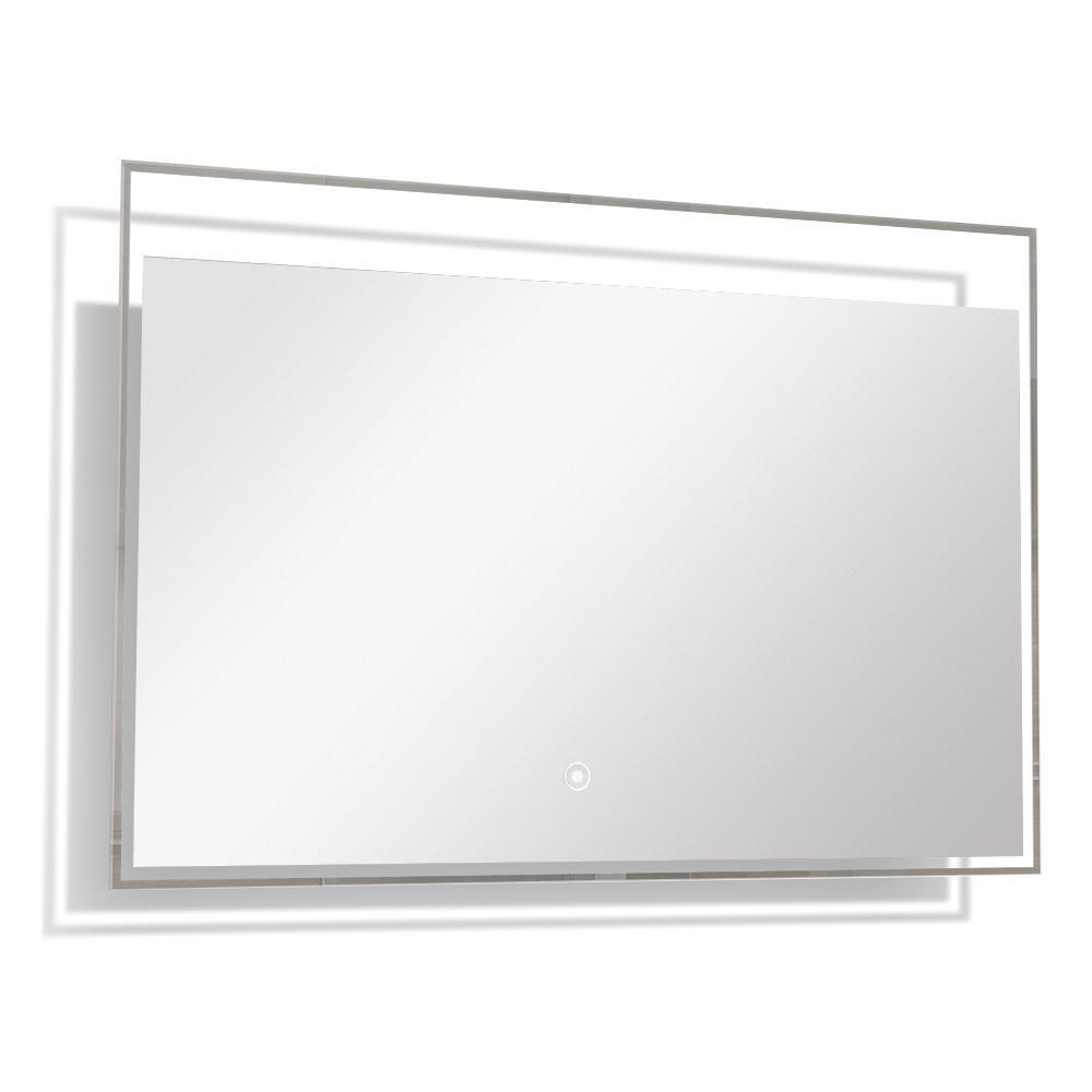 Taylor 39.37 in. x 23.62 in. Single Frameless LED Mirror