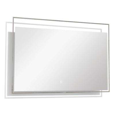 Taylor 39.37 in. x 23.62 in. Single Frameless LED Mirror