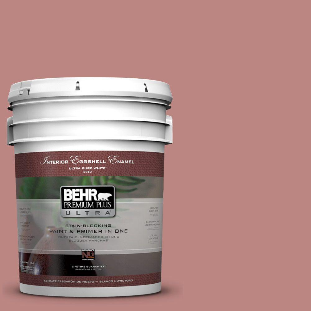 BEHR Premium Plus Ultra 5-gal. #S150-4 Red Clover Eggshell Enamel Interior Paint