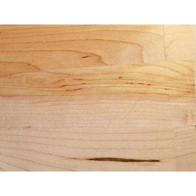 Classic Hardwoods Maple Natural 9/16 in. T x 7.5 in. W x 86.25 in. L Engineered Hardwood Flooring (27 sq. ft. / case)