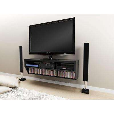 Series 9 Black Entertainment Center