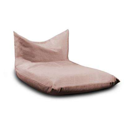 Sunbrella Finster Petal Sling Outdoor Lounge Chair Armless Bean Bag Chaise With Removable Cover
