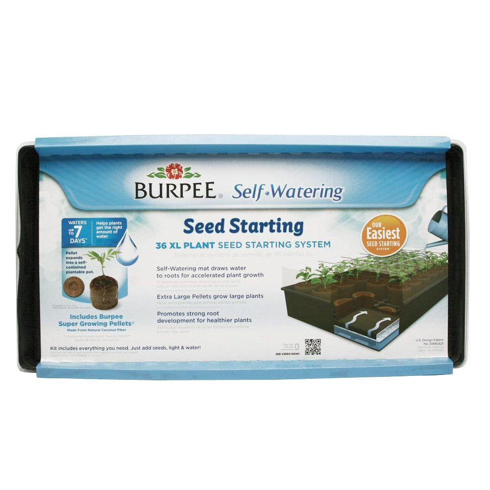 Burpee 36 XL Cell Self Watering Greenhouse Kit