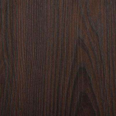 Dakar Wenge Wood Peel and Stick 3D-Effect Self Adhesive DIY Wallpaper