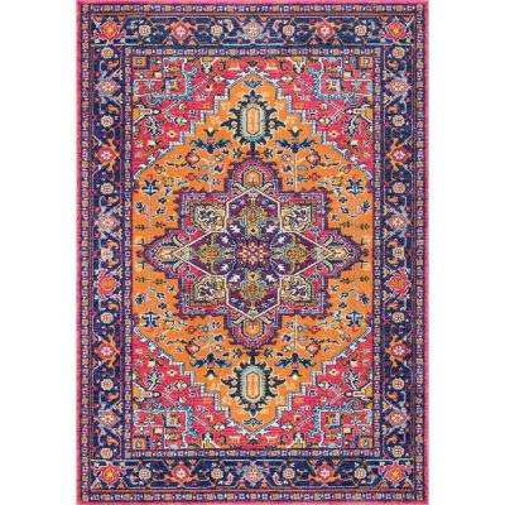 ca austin area rug orange reviews wayfair pdp trent arapaho design rugs