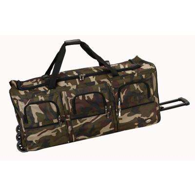 Rockland Voyage 40 in. Rolling Duffle Bag, Camo