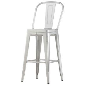 Internet #206803022. Home Decorators Collection Garden 30 in. Brushed Aluminum Bar Stool ...  sc 1 st  The Home Depot & Home Decorators Collection Garden 30 in. Brushed Aluminum Bar ... islam-shia.org