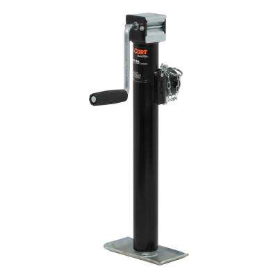 """Pipe-Mount Swivel Jack with Side Handle (2,000 lbs., 15"""" Travel)"""