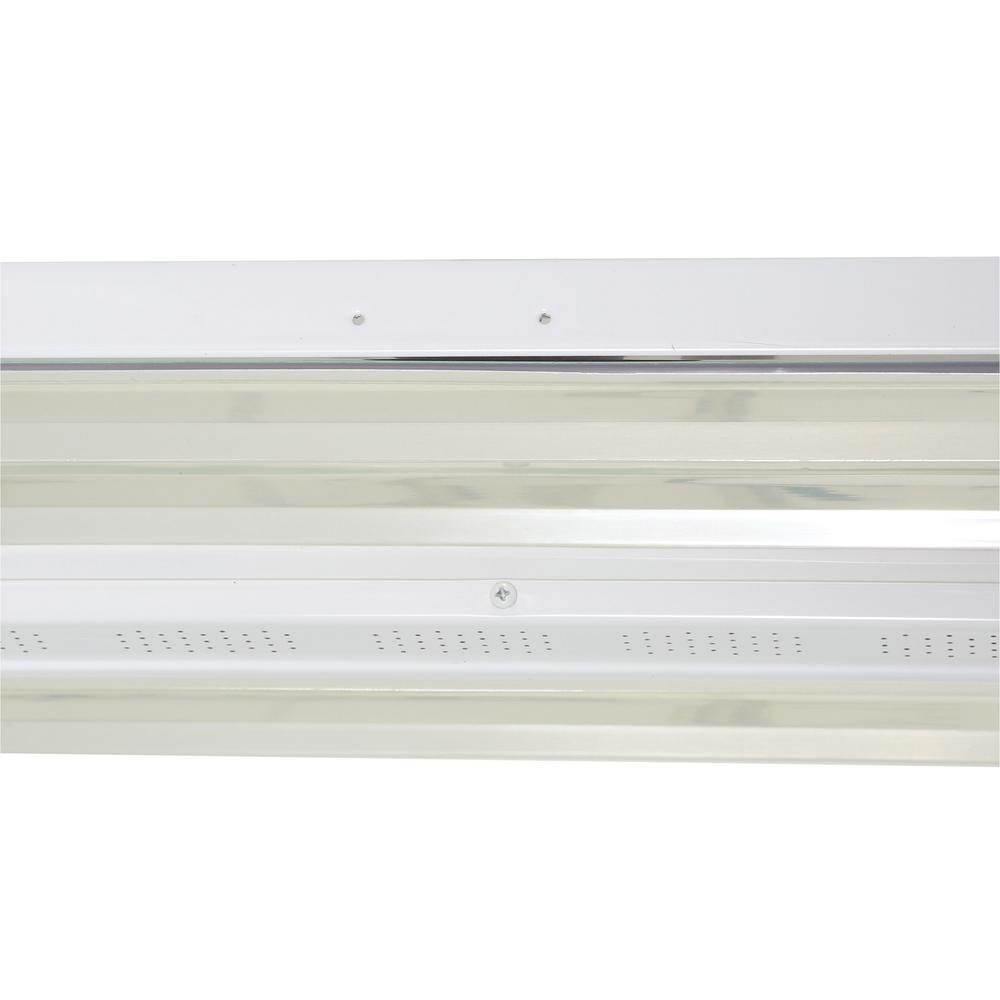 Lithonia Lighting 4 ft. 4-Light T5 High Output White Fluorescent High Bay  with Lamps Included-IBZT5 4 - The Home DepotThe Home Depot