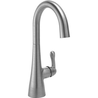 Traditional Single-Handle Bar Faucet in Arctic Stainless