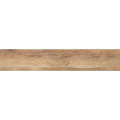 Botanica Cashew 6 in. x 24 in. Glazed Porcelain Floor and Wall Tile (9.69 sq. ft. / case)