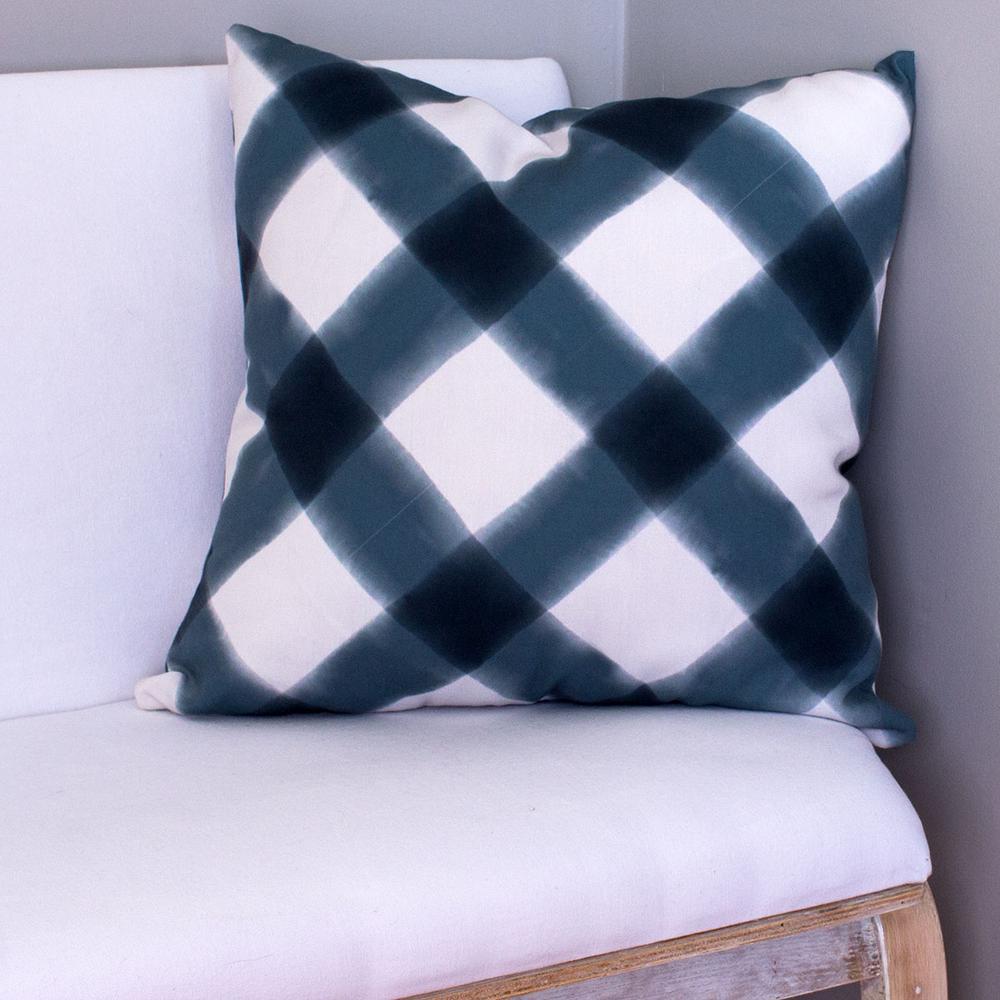 Highland Park Presidio Plaid Decorative Pillow