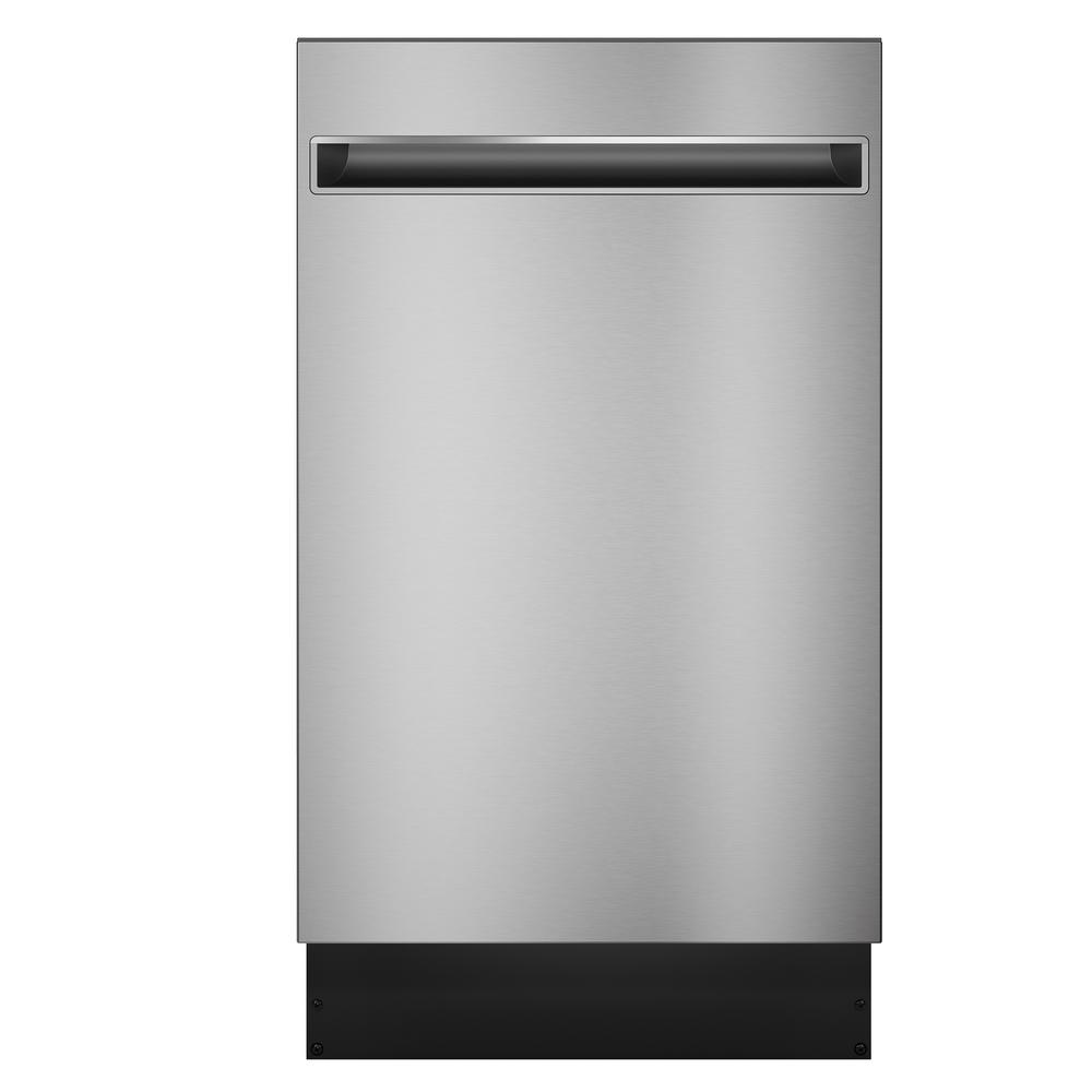 Haier Haier 18 in. Top Control Dishwasher in Stainless Steel with Stainless Steel Tub, 47 dBA, Silver