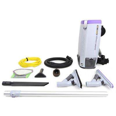 Super Coach Pro 10 Qt. Backpack Vacuum Cleaner with ProBlade Tool Kit