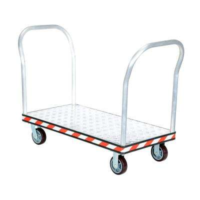 24 x 48 in. Aluminum Treadplate Platform Trucks with Double Handles