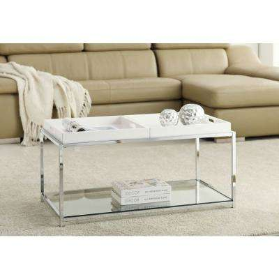Palm Beach White Coffee Table