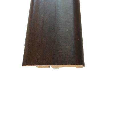 Chocolate Mocha Laminate Stair-Nose, 0.5 in. Thickness x 2.02 in. Wide x 94.5 in. Length per Piece