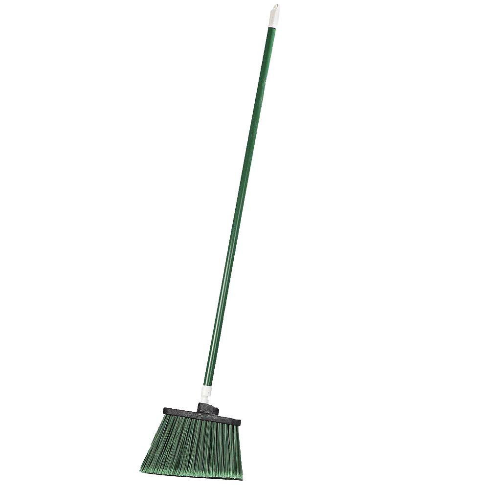 Sparta Spectrum 56 in. Duo-Sweep Angle Broom with Flagged Bristle in