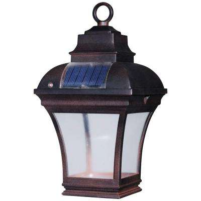Altina Outdoor Solar LED Hanging Lantern