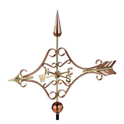 Victorian Arrow Weathervane - Pure Copper