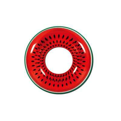 42 in. Red Watermelon Inflatable Inner Tube Float