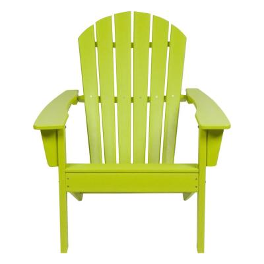 Seaside Lime Green Adirondack Chair